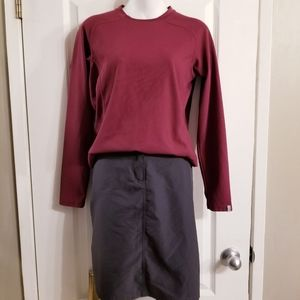 MEC skirt & thermal long sleeve top SET